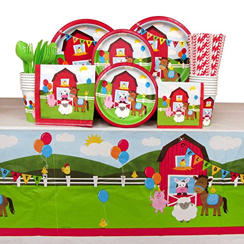 Farmhouse Fun Party Pack Guests