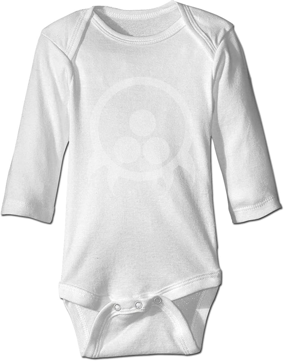 Metroid Logo Baby Onesies Long Sleeve Cotton Bodysuit for Baby Boys Girls Shanyujing Jianzhu Co. Ltd