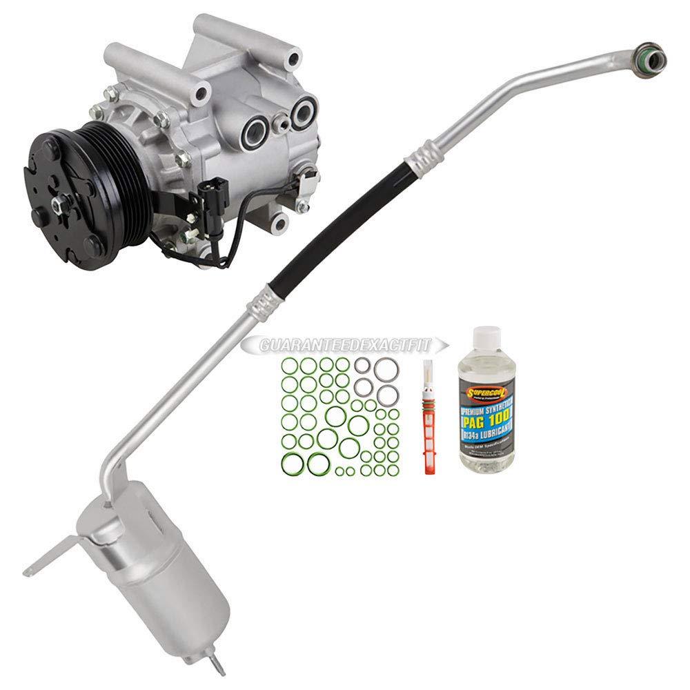 Amazon.com: AC Compressor w/A/C Repair Kit For Jaguar X-Type 2002 2003 2004 2005 - BuyAutoParts 60-80274RK New: Automotive