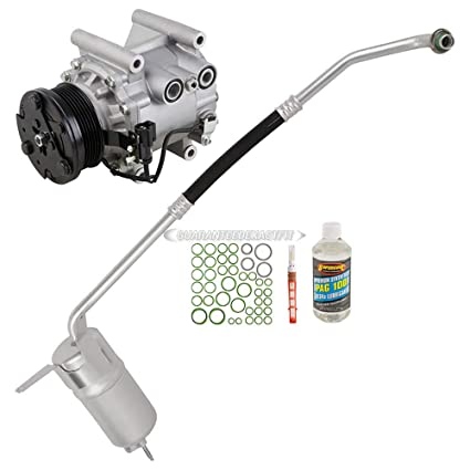 Amazon.com: AC Compressor w/A/C Repair Kit For Jaguar X-Type 2002 2003 2004 2005 - BuyAutoParts 60-80274RK New: Automotive