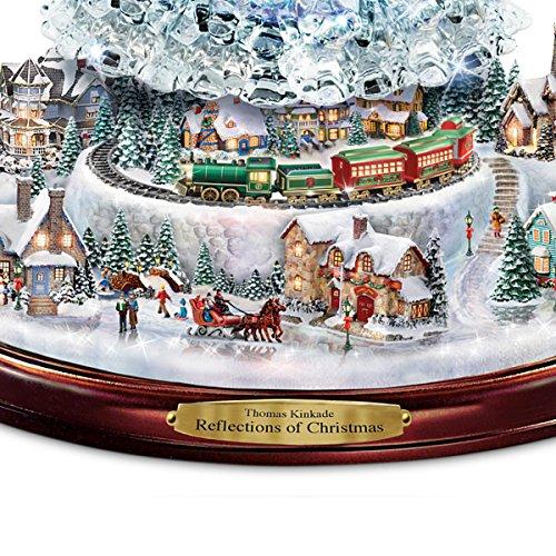 Thomas Kinkade Tabletop Christmas Tree