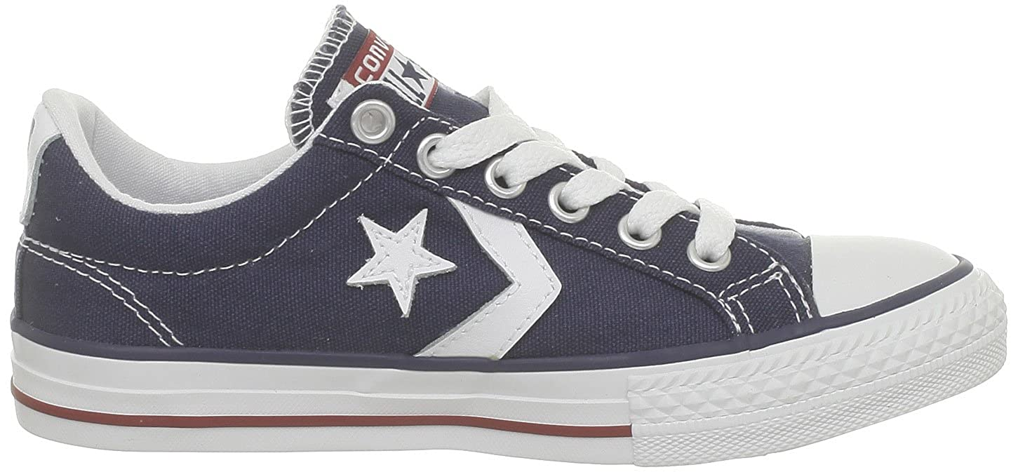 Converse Kids Star Player Ev Ox Canvas Trainers