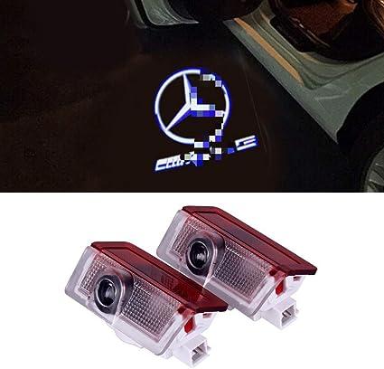 Proyector de puerta de coche fantasma sombra Logo luz Bienvenue ...