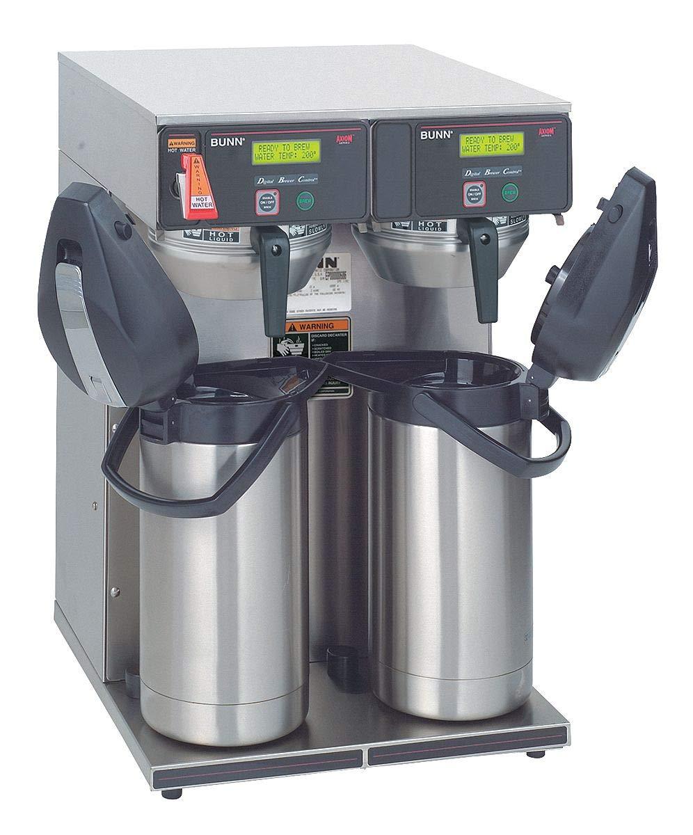 Bunn 38700.0013 Axiom Twin APS Airpot 15-Gallon Coffee Brewer 120 240V