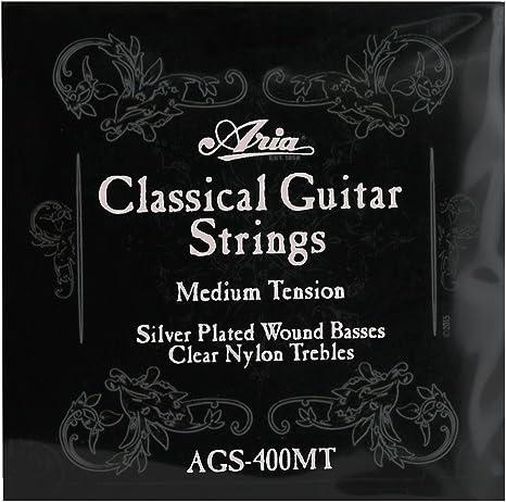 Aria 7D14 - Juego de cuerdas para guitarra española/clásica ...