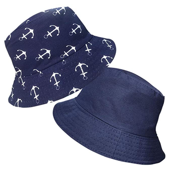 Kids Bucket Hat Bush Sun Festival Beach Boys Girls Cotton Summer Hats Unisex Cap