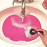 Cartshopper Spa Express Makeup Brush Cleaning Mat (Pink)