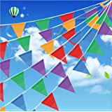 200 pcs multicolor pennant banner 250 ft for party decorations birthdays