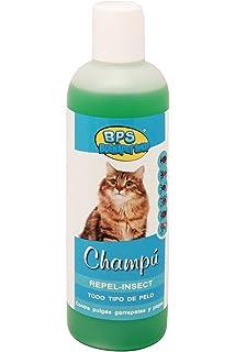 BPS (R)) Champú con Efecto Repelente de Insectos para Todo Tipo de Pelo, Shampoo para Gato, Animales Domésticos…