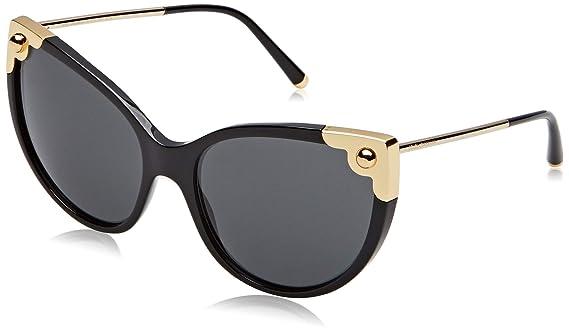 Amazon.com: Dolce & Gabbana Mujer Ojo de gato anteojos de ...
