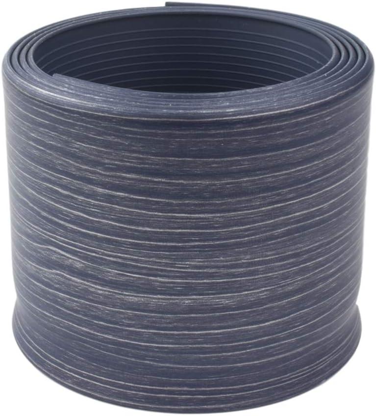 Wood Color 3 Raitto Plastic 4-Inch by 4-Feet Dry Back Vinyl Wall Base