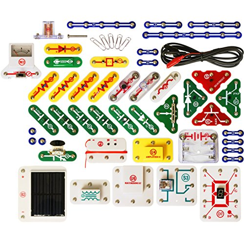 Snap Circuits Upgrade - Snap Circuits UC-60 Electronics Exploration Upgrade Kit | SC-100 to SC-750 | Upgrade Junior to Extreme