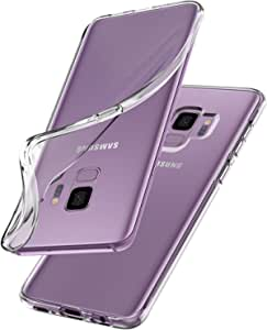 Sipgen Liquid Crystal, Back cover mobile case For Samsung Galaxy S9 - Clear