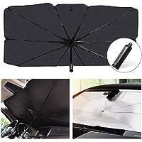 مظلة الشمس شولوفس للزجاج الامامي للسيارة تمنع الاشعة فوق البنفسجية، مظلة شمسية قابلة للطي تبقي السيارة باردة وسهلة…