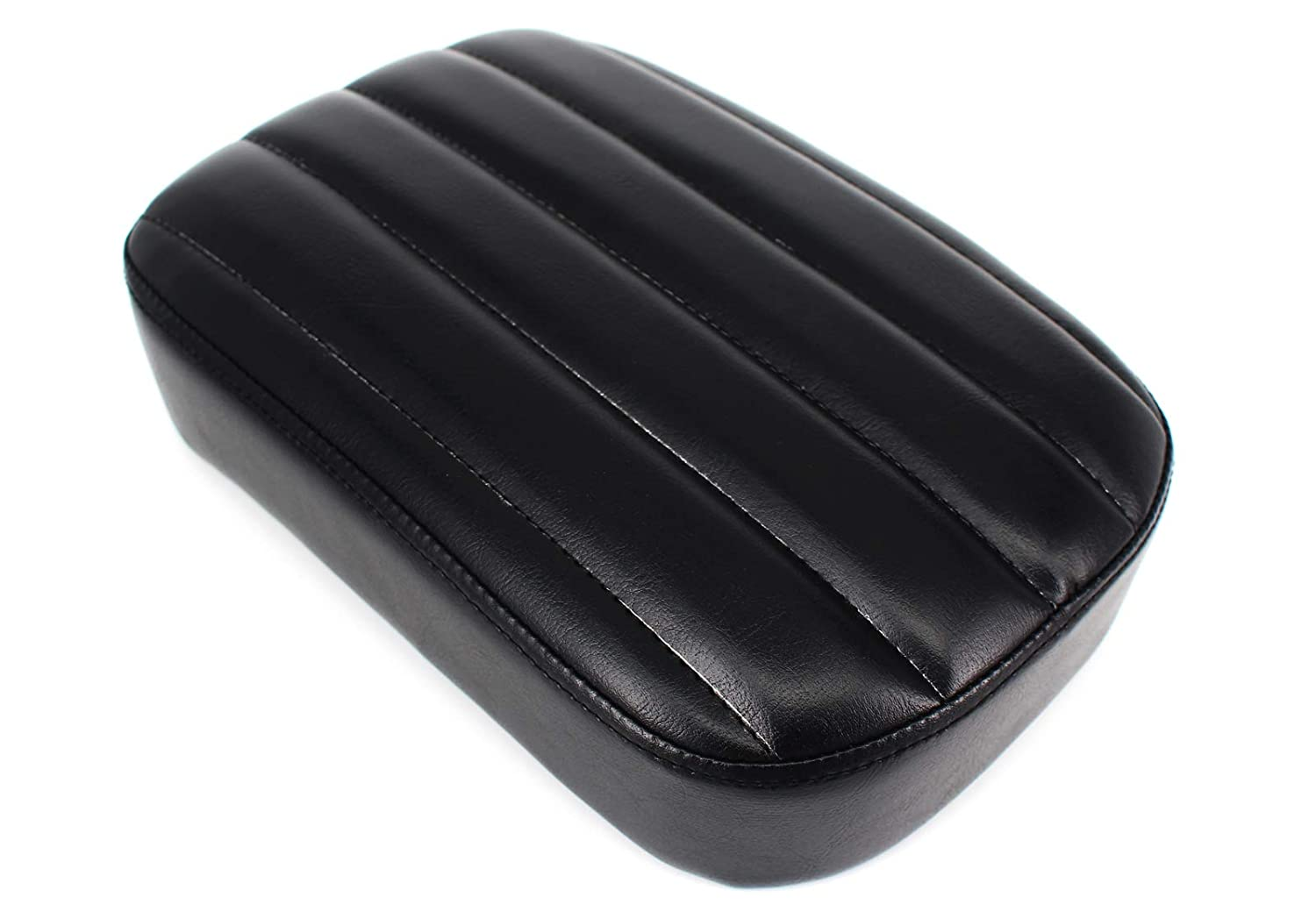 Pillion Pad Seat 8 Suction Cup For Harley Dyna Sportster Softail Touring XL 883 1200