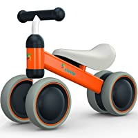 Baby Balance Bike - Baby Bicycle for 6-24 Months, Sturdy Balance Bike for 1 Year Old Girl Boy Gifts, Perfect as First Bike or Birthday Gift, Safe Riding Toy