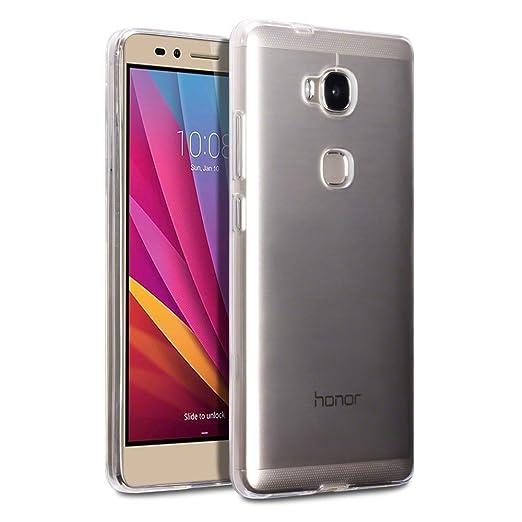 18 opinioni per Terrapin TPU Gel Custodia per Huawei Honor 5X Cover, Colore: Trasparente