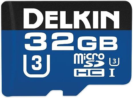 Amazon.com: Delkin tarjeta de memoria microSD 660 x 99 MB/s ...