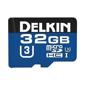 Dispositivos Delkin 32 GB MicroSDHC 660 x UHS-I U3 Tarjeta ...