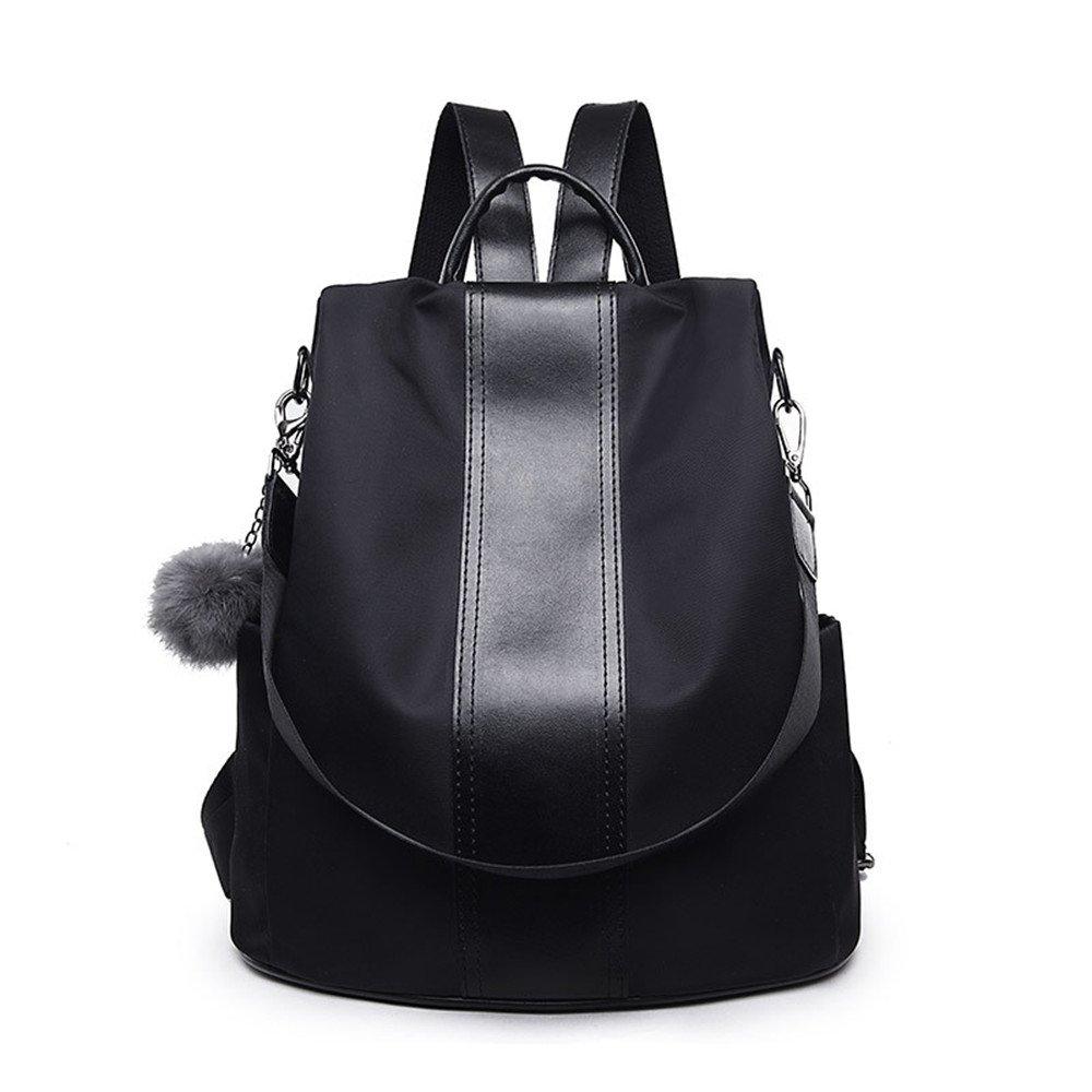 Women Backpack Purse Waterproof Nylon Anti-theft Rucksack School Shoulder Bag Bag for Girls