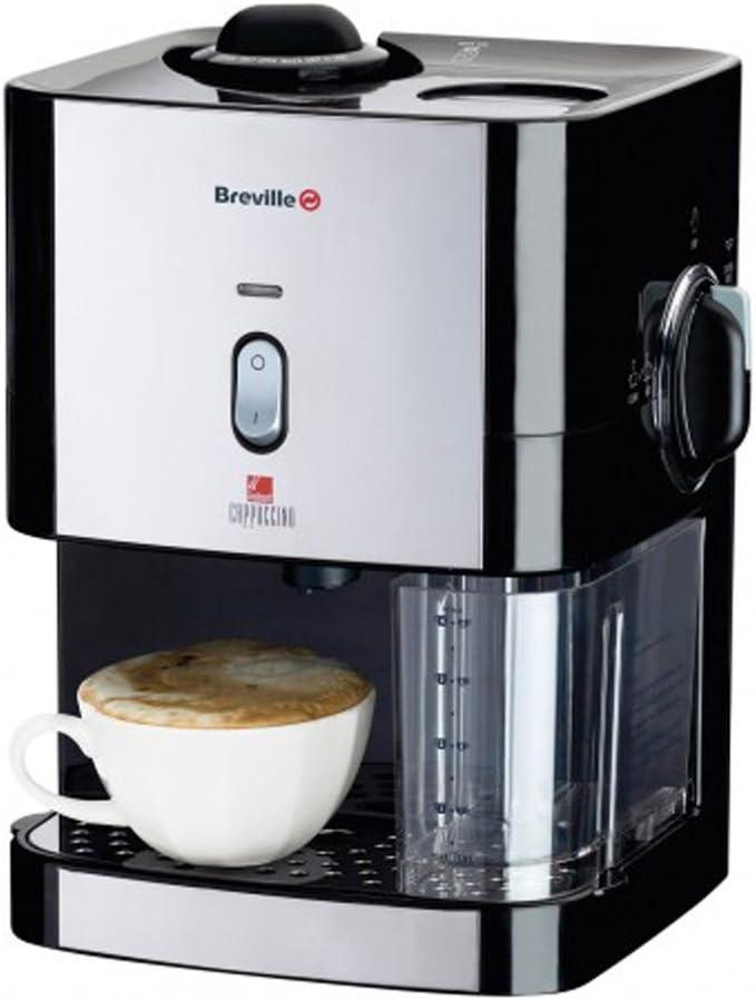 Breville VCF011 Independiente Máquina espresso 0.3L Negro - Cafetera (Independiente, Máquina espresso, 0,3 L, De café molido, Negro): Amazon.es: Hogar