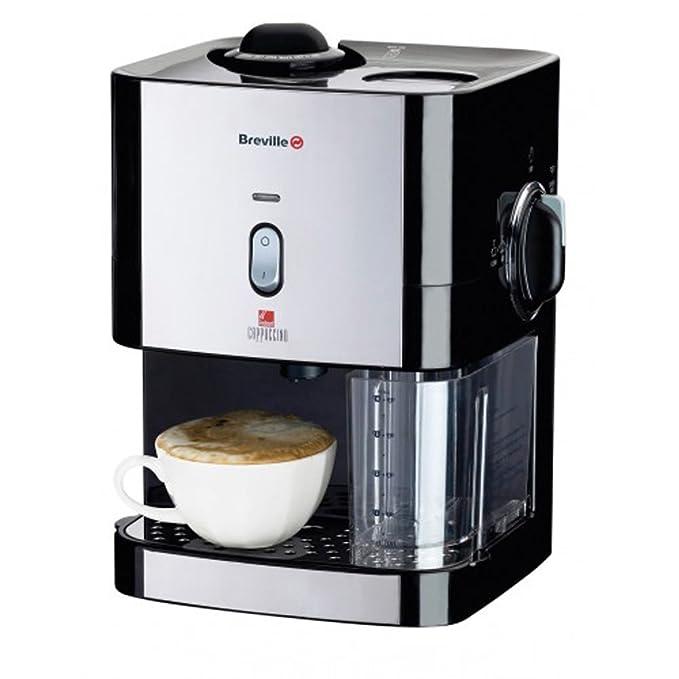 Breville VCF011 Independiente Máquina espresso 0.3L Negro ...