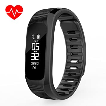 OOLIFENG Fitness Tracker Podómetro Reloj Con Usable Actividad ...