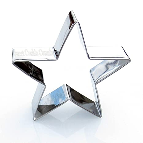 Amazon.com: Star Cookie cutter- Acero Inoxidable: Kitchen ...