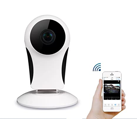 SKYVIEW Sinis Home Camera, 1080p Wireless IP Security Surveillance System  with Night Vision, Baby Monitor on iOS, Android App