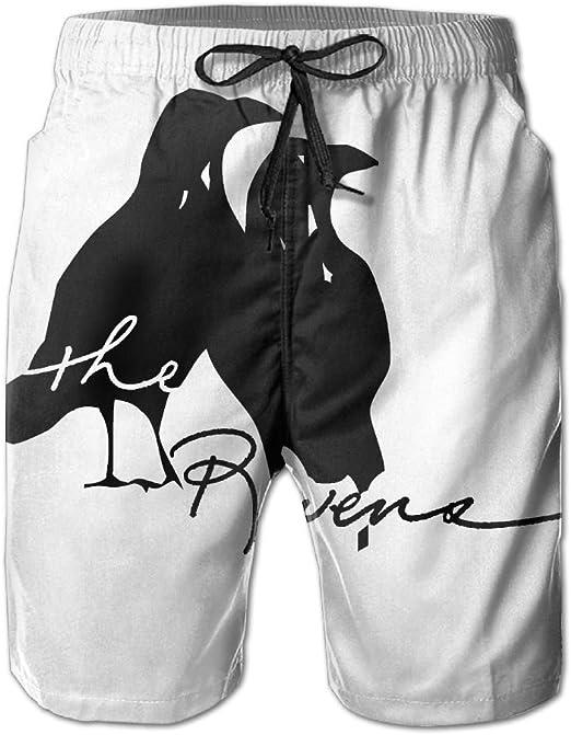 Notre Dame De Paris Mens Swim Trunks Board Shorts Beachwear Sports Pants for Home Pants