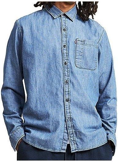 Camisa manga larga Levis – Skate Riveter Se Chambray azul talla: XL (X-Large): Amazon.es: Ropa y accesorios
