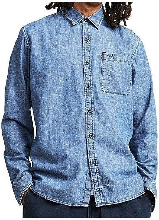 Camisa manga larga Levis – Skate Riveter Se Chambray azul ...