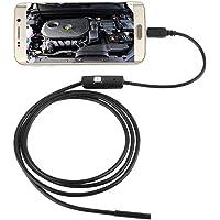 5,5mm Endoscopio Boroscopio Cámara Tubo de Inspección Impermeable