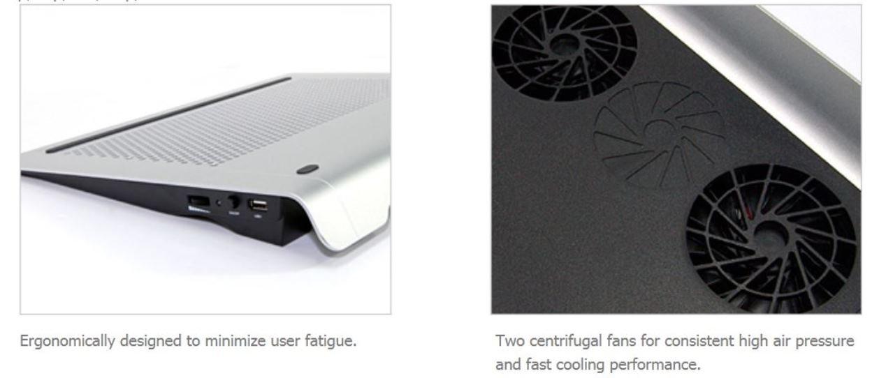 NC2000B Zalman Minimized Noise Cooler for Notebook