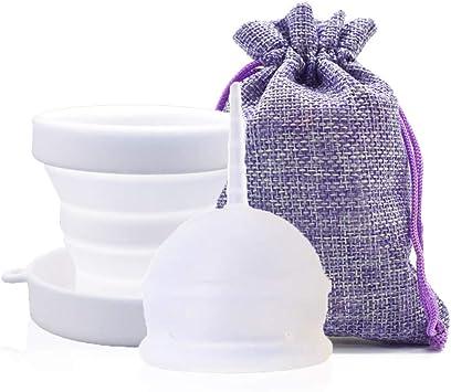 SPEQUIX - Copa menstrual para mujer (reutilizable, hasta 12 ...