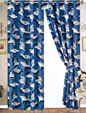 SHARK ATTACK TEENS BOYS CUTE COLLECTION WINDOWS PANELS WITH GRONMENTS 2 PCS