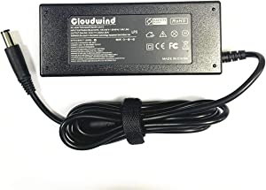 Cloudwind 19.5V 4.62A 90W Replacement AC Adapter,Power Cord Supply for Dell Inspiron 1750 1750N 15R 17RN 17RV Dell Vostro 3500 3500n 3550 3550n 3555 3560 3700 3700n 3750 A840 A860 A860n Series.