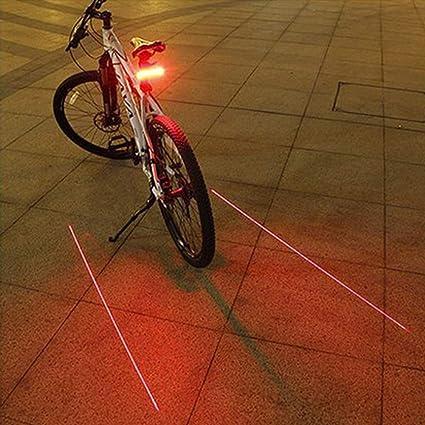 DragonPad - Luz Trasera para Bicicleta de montaña, Intermitente ...