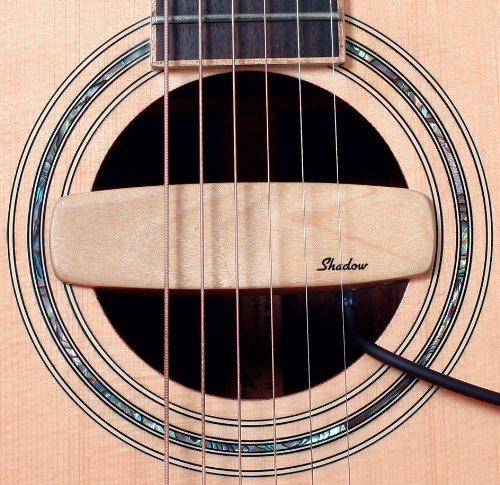 color rosa Pastilla para caja de resonancia para guitarra ac/ústica Shadow SH-330 pasiva