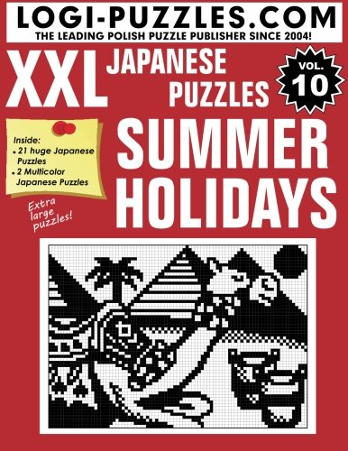 Download XXL Japanese Puzzles: Summer Holidays (Volume 10) PDF
