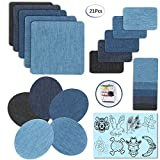 jeans repair kit - Iron On Denim Patches Repair Kit For Clothing Jeans 15 Pack (20-Pack)