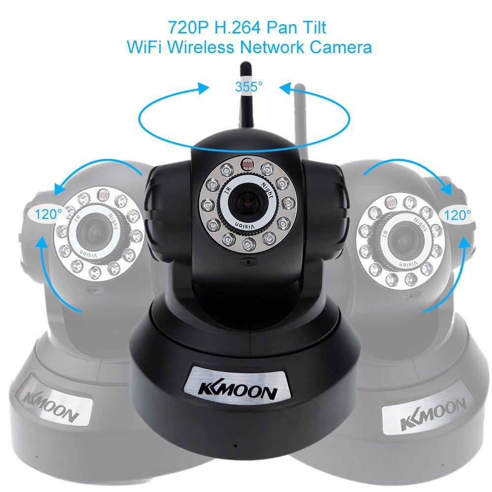 Cámara de vigilancia wifi KKmoon 720P por solo 24,99€