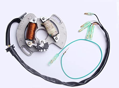 amazon com: new magneto plate ignition stator for yamaha blaster 200 yfs200  2003 2004 2005 2006 5vm-85560-00-00: automotive