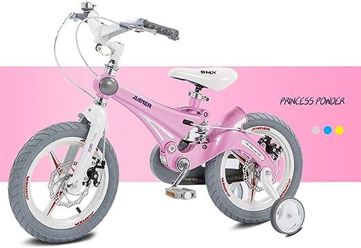 SJSF Y Bici Bicicleta Infantil niño y niña, 12/14/16 Pulgadas | A Partir de 3 años | V-Brake y Freno de Disco | 14