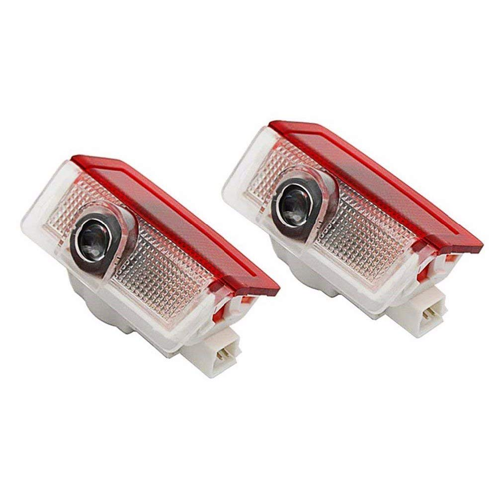 ZNYSTAR 2pcs Car Lamp of the Door Lamp Ghost Shadow Welcome Light Benz GLK-AMG