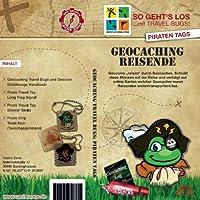 Cache Zone's Geocaching Reisende: 2 Piraten Tags (Travelbug)