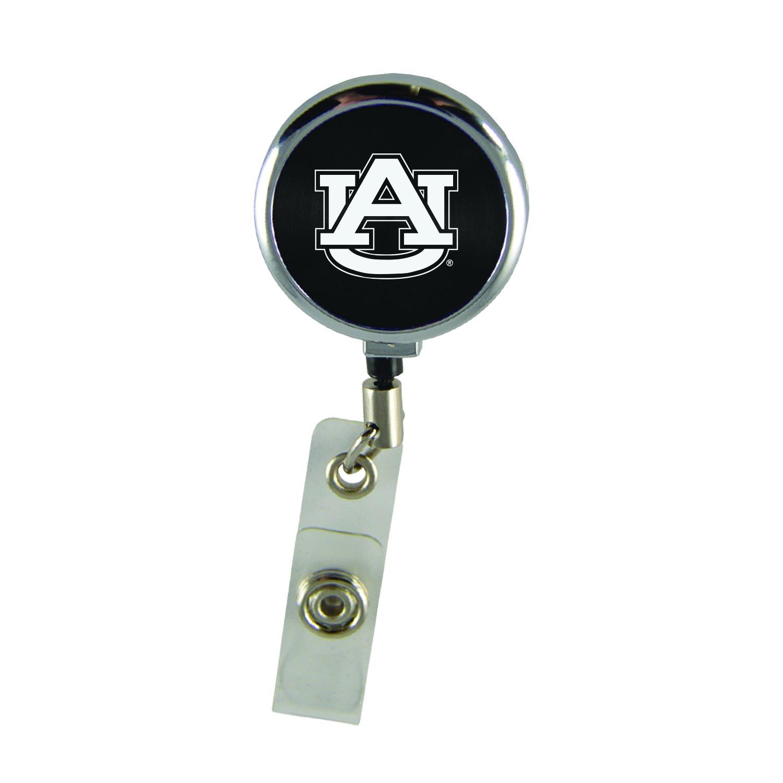 Auburn University-Retractable Badge Reel-Black LXG Inc.