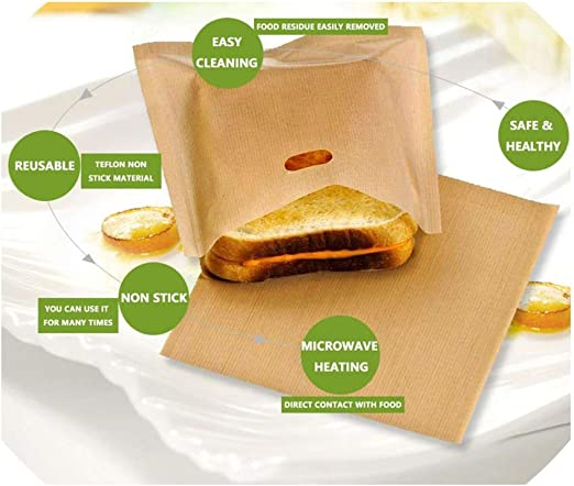 Bolsa reutilizable antiadherente para pan, con revestimiento de ...