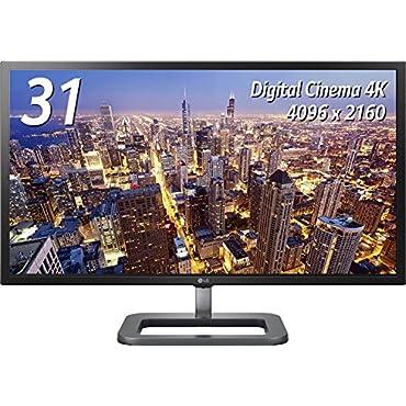 LG Cinema 31MU97-B 31 Widescreen LED IPS 4K (4096 x 2160 Resolution) Monitor