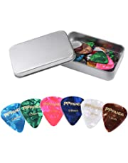 Guitar Picks 48pcs, PPpanda Guitar Plectrums For Your Electric, Acoustic, or Bass Guitar 0.46 0.58 0.71 0.84 0.96 1.2mm